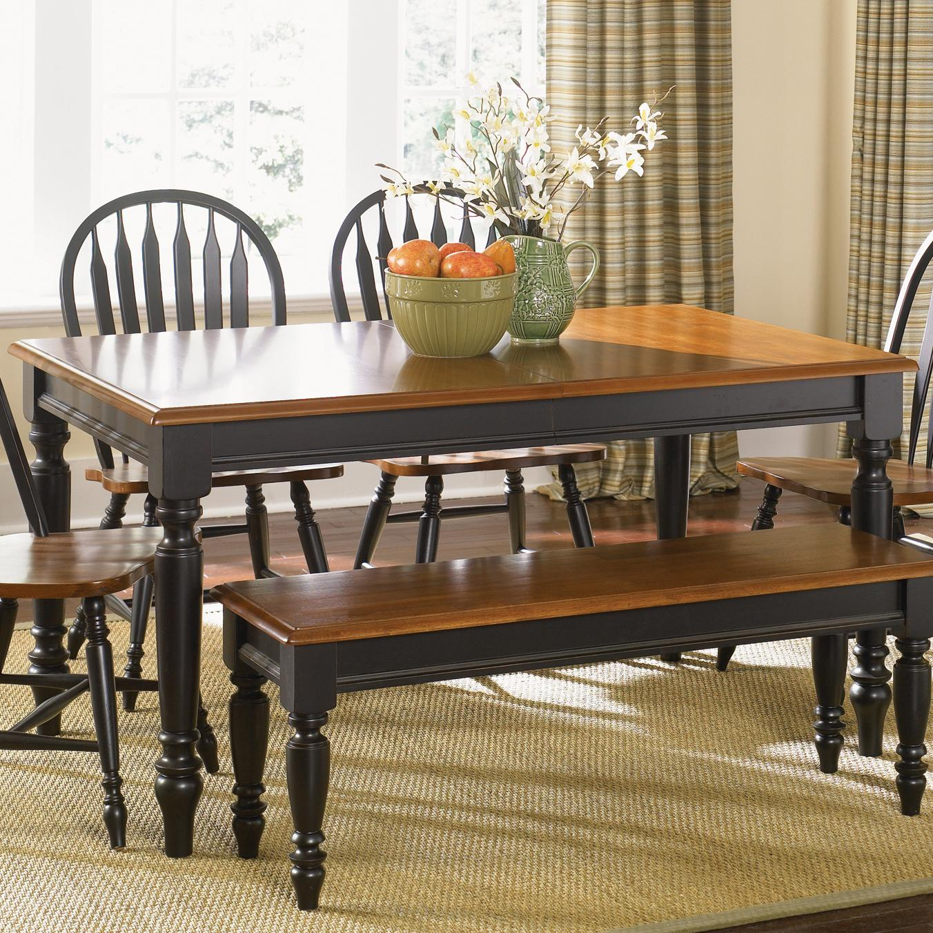 Liberty Furniture Low Country Rectangular Dining Table - Item Number: 80-T3876