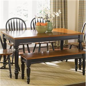 Vendor 5349 Low Country Rectangular Dining Table