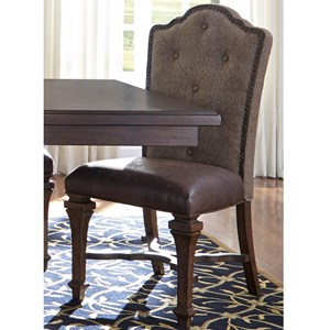 Liberty Furniture Lucca Upholstered Side Chair