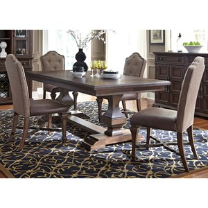 5 Piece Dining Table and Chair Set
