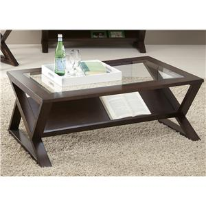 Liberty Furniture Madison Rectangular Cocktail Table