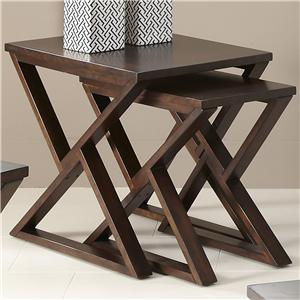 Liberty Furniture Madison Nesting End Table