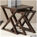 Vendor 5349 Madison Nesting End Table - Item Number: 443-OT1023