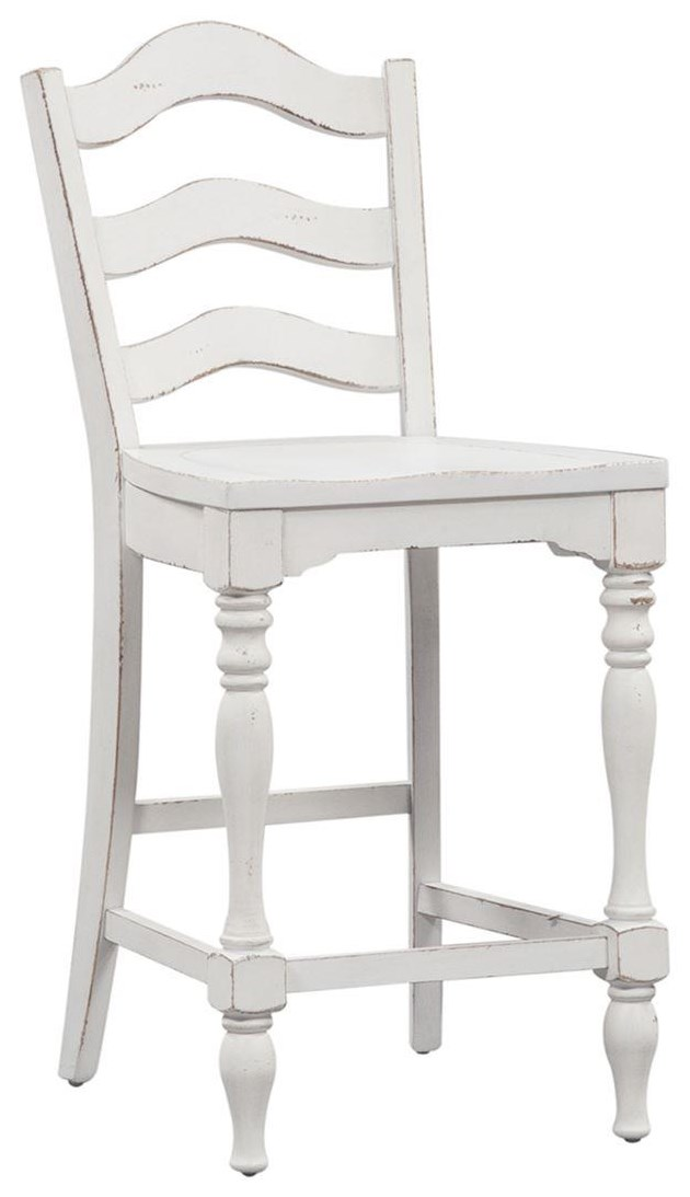 Ladder Back Counter Chair