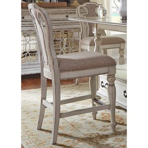Liberty Furniture Magnolia Manor Dining Counter Height Chair