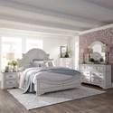 Liberty Furniture Magnolia Manor King Bedroom Group - Item Number: 244-BR-KPBDMCN