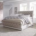 Liberty Furniture Magnolia Manor King Upholstered Sleigh Bed - Item Number: 244-BR-KUSL