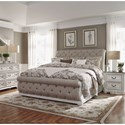 Liberty Furniture Magnolia Manor King Bedroom Group - Item Number: 244-BR-KUSLDMN