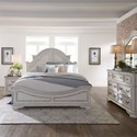 Liberty Furniture Magnolia Manor Queen Bedroom Group - Item Number: 244-BR-QPBDMN
