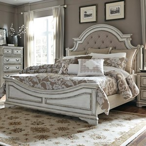 Vendor 5349 Magnolia Manor Queen Upholstered Bed