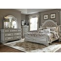 Liberty Furniture Magnolia Manor Queen Bedroom Group - Item Number: 244-BR-QUBDMC