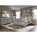 Liberty Furniture Magnolia Manor Queen Bedroom Group - Item Number: 244-BR-QUBDMN