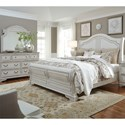 Liberty Furniture Magnolia Manor Queen Bedroom Group - Item Number: 244-BR1-QSLDM