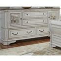 Liberty Furniture Magnolia Manor Dresser - Item Number: 244-BR32