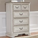 Liberty Furniture Magnolia Manor 4 Drawer Chest - Item Number: 244-BR40