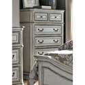 Liberty Furniture Magnolia Manor 5 Drawer Chest - Item Number: 244-BR41