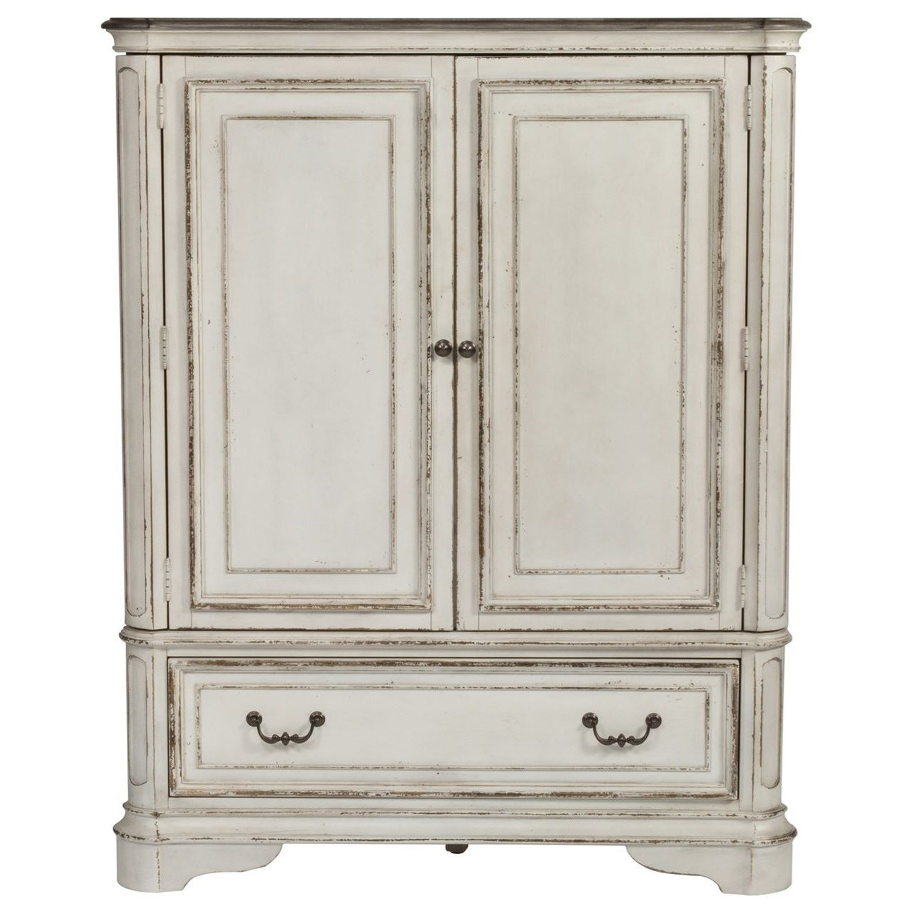 Liberty Furniture Magnolia Manor Door Chest With Adjustable Shelves