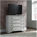 Liberty Furniture Magnolia Manor Media Chest - Item Number: 244-BR45