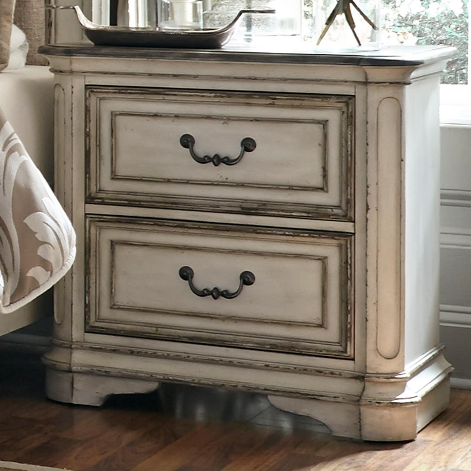 Vendor 5349 Magnolia Manor 2 Drawer Night Stand - Item Number: 244-BR61