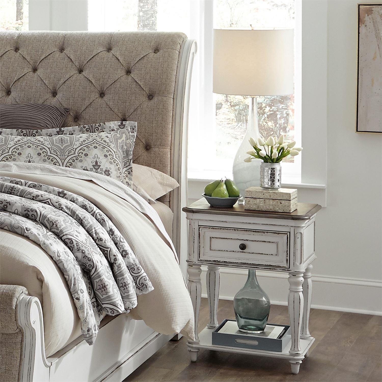 Liberty Furniture Magnolia Manor 244-BR63 One Drawer ...