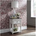 Liberty Furniture Magnolia Manor One Drawer Nightstand - Item Number: 244-BR63