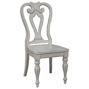 Liberty Furniture Magnolia Manor Dining Splat Back Side Chair