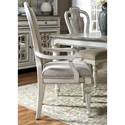 Liberty Furniture Magnolia Manor Dining Splat Back Arm Chair - Item Number: 244-C2501A