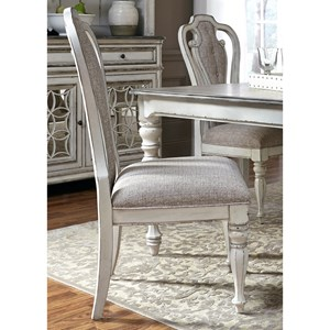 Vendor 5349 Magnolia Manor Dining Splat Back Side Chair