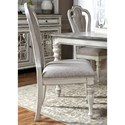 Liberty Furniture Magnolia Manor Dining Splat Back Side Chair - Item Number: 244-C2501S