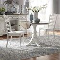 Liberty Furniture Magnolia Manor Dining 3 Piece Table and Chair Set - Item Number: 244-CD-3DLS