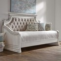 Liberty Furniture Magnolia Manor Twin Upholstered Daybed - Item Number: 244-DAY-TDB