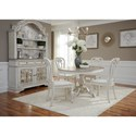 Liberty Furniture Magnolia Manor Dining Casual Dining Room Group - Item Number: 244-DR Dining Room Group 2
