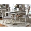 Liberty Furniture Magnolia Manor Dining 5 Piece Rectangular Table Set - Item Number: 244-DR-5RLS