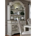 Liberty Furniture Magnolia Manor Dining Dining Buffet and Hutch - Item Number: 244-DR-HB