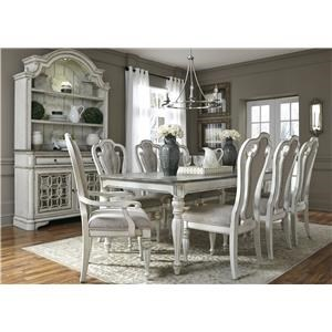 Liberty Furniture Magnolia Manor Dining Formal Dining Room Group