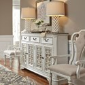 Liberty Furniture Magnolia Manor Hall Buffet - Item Number: 244-HB6642