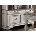 Liberty Furniture Magnolia Manor Office 5 Drawer Credenza - Item Number: 244-HO121
