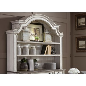 Liberty Furniture Magnolia Manor Office Credenza Hutch