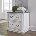 Liberty Furniture Magnolia Manor Office Lateral File - Item Number: 244-HO146