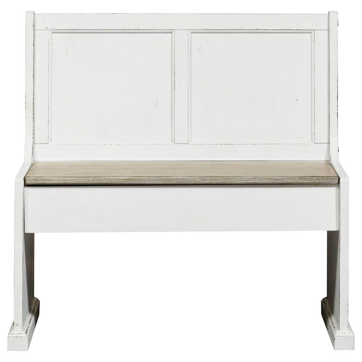 """Morgan 37"""" Nook Bench by Libby at Walker's Furniture"""