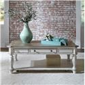 Liberty Furniture Magnolia Manor Rectangular Cocktail Table - Item Number: 244-OT1010