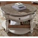 Liberty Furniture Magnolia Manor Round Cocktail Table - Item Number: 244-OT1011