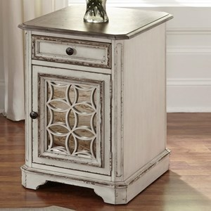 Liberty Furniture Magnolia Manor Chair Side Table