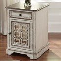 Liberty Furniture Magnolia Manor Chair Side Table - Item Number: 244-OT1021