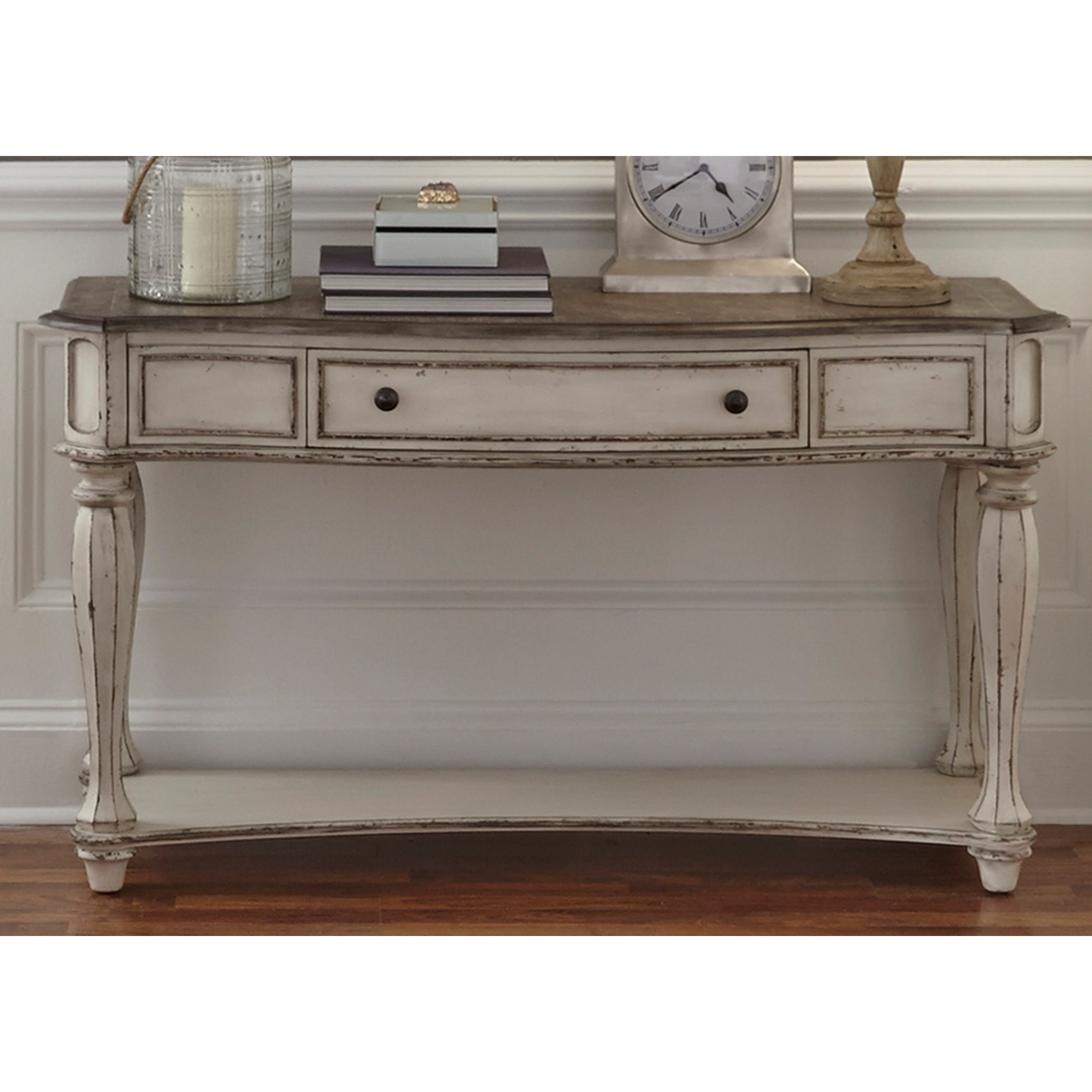 Awesome Liberty Furniture Magnolia Manor Sofa Table   Item Number: 244 OT1030