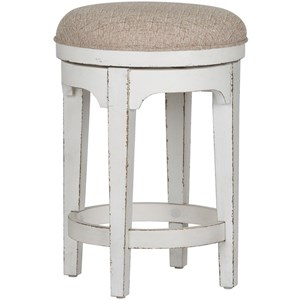 Liberty Furniture Magnolia Manor Console Swivel Stool