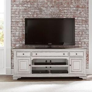"Liberty Furniture Magnolia Manor 73"" TV Stand"