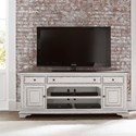 "Liberty Furniture Magnolia Manor 73"" TV Stand - Item Number: 244-TV70"