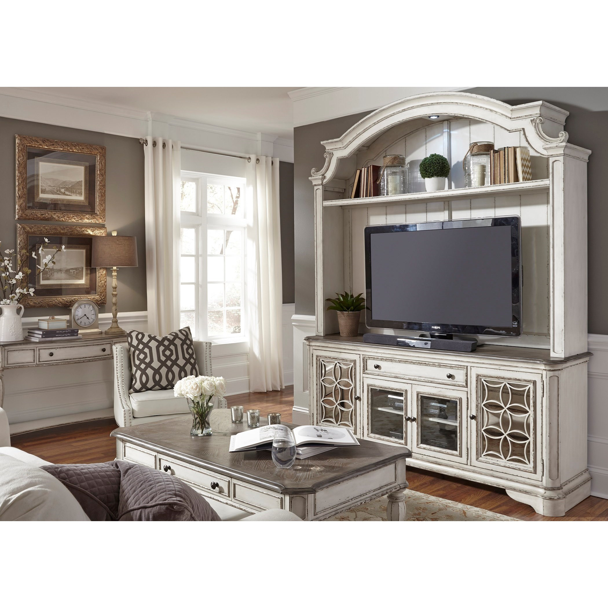 Liberty Furniture Magnolia Manor Entertainment Tv Stand
