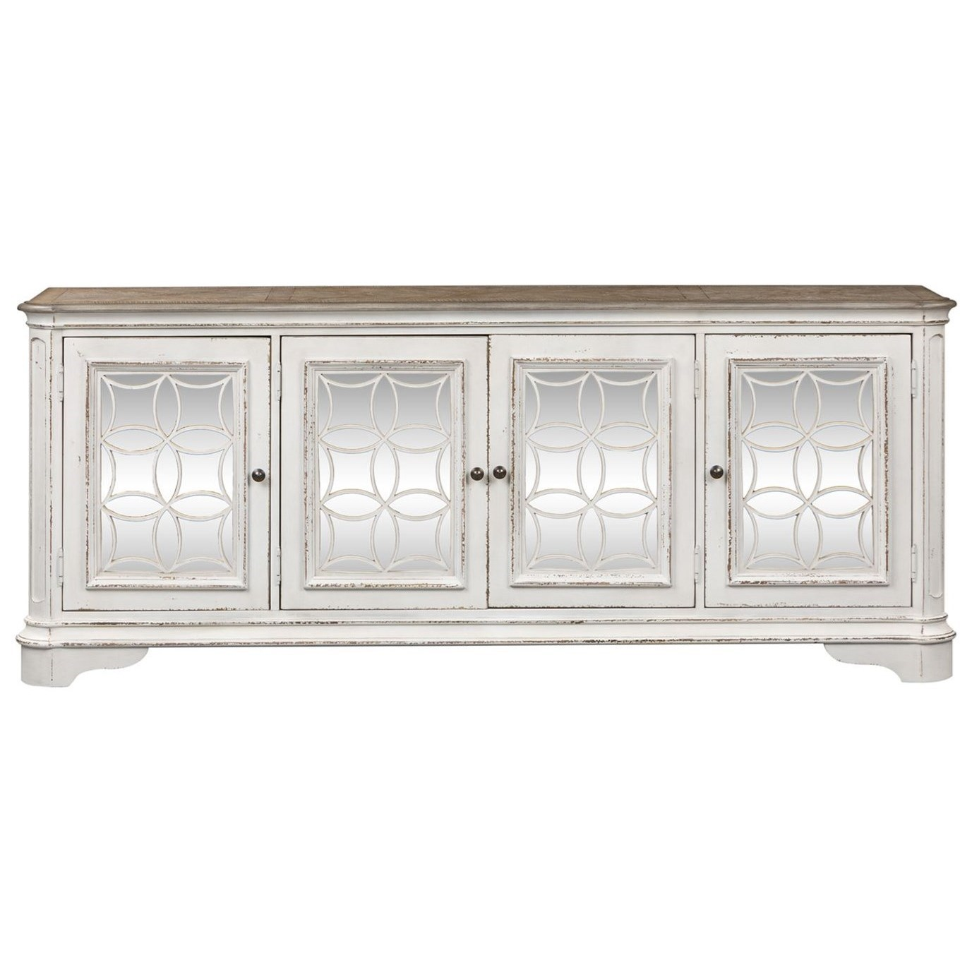 Morgan TV Console by Libby at Walker's Furniture